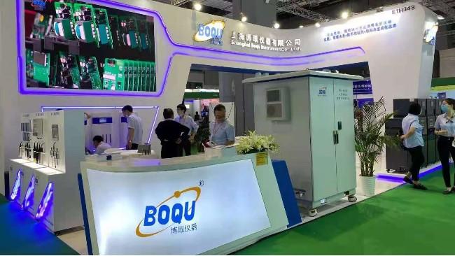 超高人气!博取仪器亮相第十四届上海国际水展