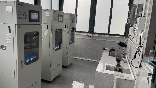上海青浦某药企污染源排口安装案例