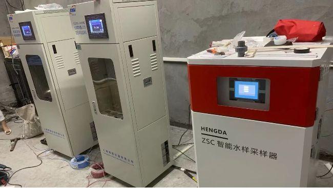 宁波某化工公司污水排口安装案例