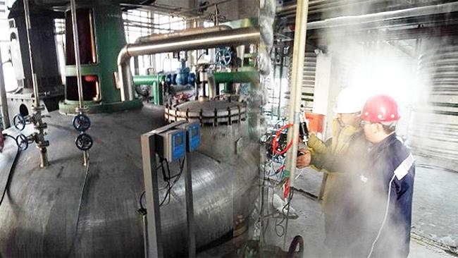 内蒙古拜克生物有限公司使用博取仪器的发酵罐