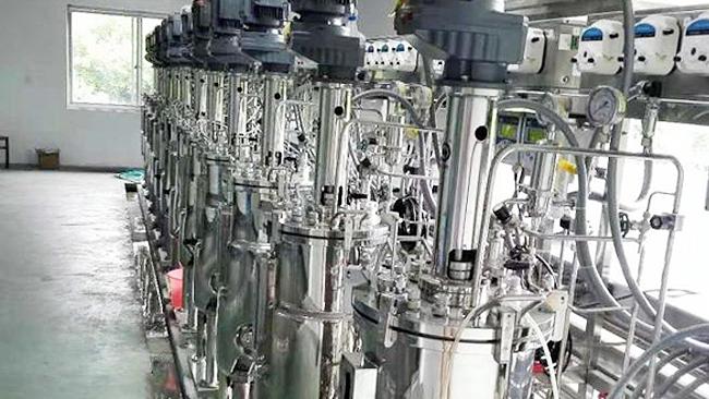 浙江绍兴厚普生物科技有限责任公司使用博取仪器的生物反应器