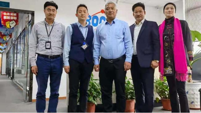 上海临港新区投资促进中心领导莅临上海博取仪器考察交流